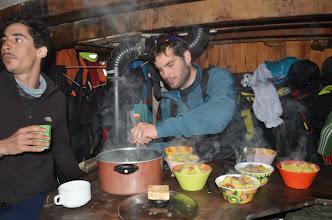 Photo: A la soupe ! au menu : des patates !