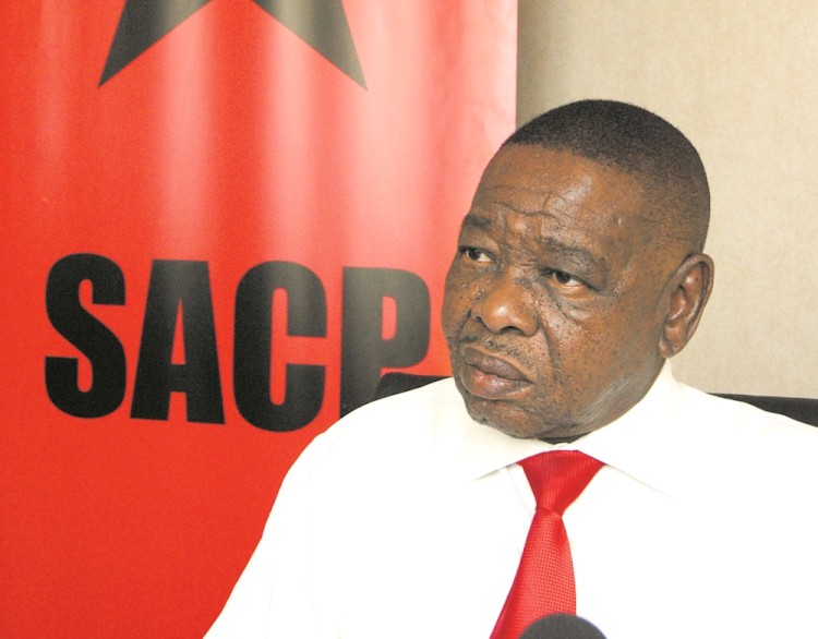 SACP general secretary Blade Nzimande.   Picture: JASON BOSWELL.