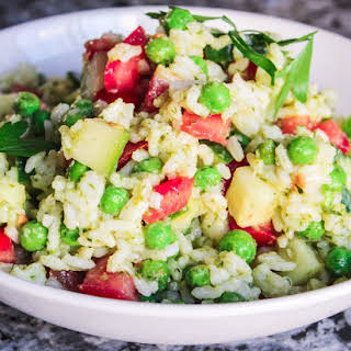 Chimichurri Rice Salad.