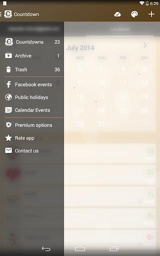 Countdown Widget screenshot 21