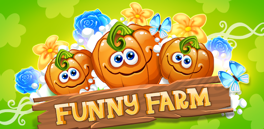 Funny Farm match 3 game APK