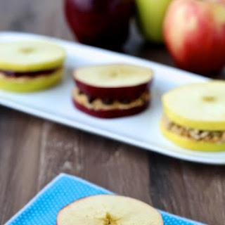 Apple PB & J Sandwiches