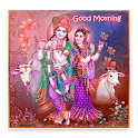 Radha Krishna Good Morning Messages icon