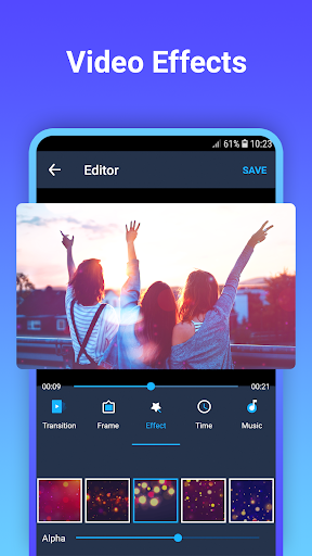 Video maker with photo & music 1.0.2 screenshots 10