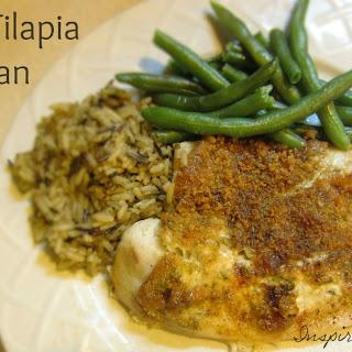 Baked Tilapia Parmesan Recipe!