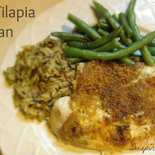 Baked Tilapia Parmesan Recipe!.
