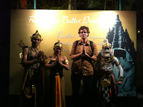 Photo: Prambanan Ramayana Ballet.  Yogyakarta, Indonesia.  Enero 2014.