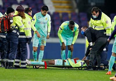 Carlos Cuesta a quitté l'hôpital après sa blessure à la tête