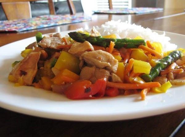 Orange Spicy Thai Chicken Recipe