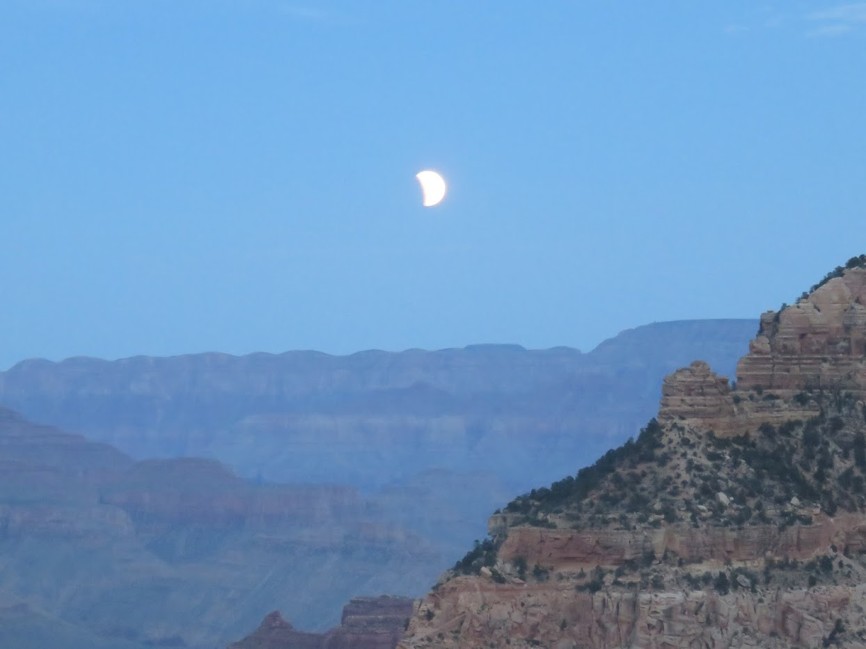 moon eclipse grand canyon 2015 mather point
