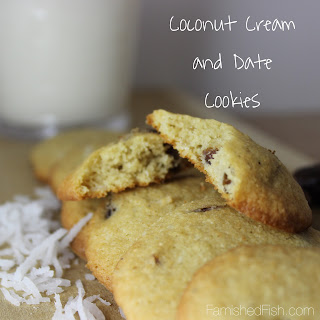 Coconut Cream and Date Cookies – #FillTheCookieJar