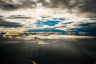 Photo: South Alabama Sky from 8,000 feet