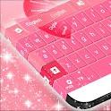 键盘主题粉红免费 icon