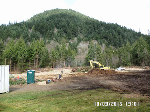 Photo: THE ACTUAL SITE OF THE CONSTRUCTION
