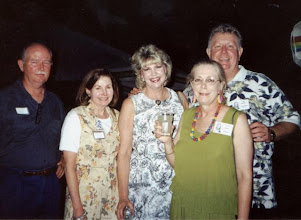 Photo: Bobby GIlmore, Pat (Gilmore) Hunter, Kathi (Hesson) Curtis, Carolyn (McGill) Hoelscher, Joe Hoelscher