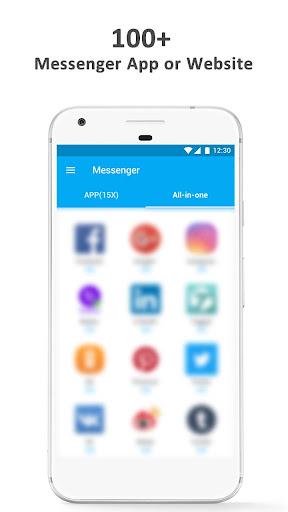 Hub Messenger - The Final All-in-One Messenger 1.0.1 screenshots 3