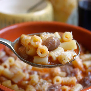 Pasta e Fagioli aka Pasta and Beans (and a Little Rant About Using Quality Ingredients)