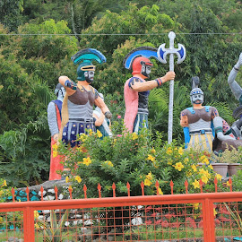 Morion Statues by Florante Lamando - Public Holidays Easter