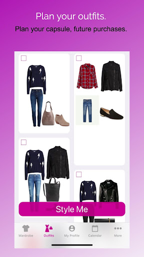 Pureple Outfit Planner cheat hacks
