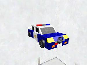 American police sports sedan