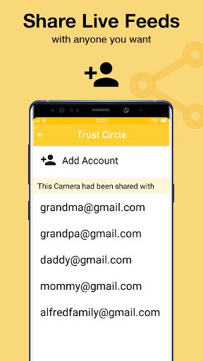 Alfred Home Security Camera 3.15.1 (build 1678) screenshots 7