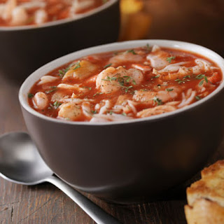 Fish Soup with Vegetables.