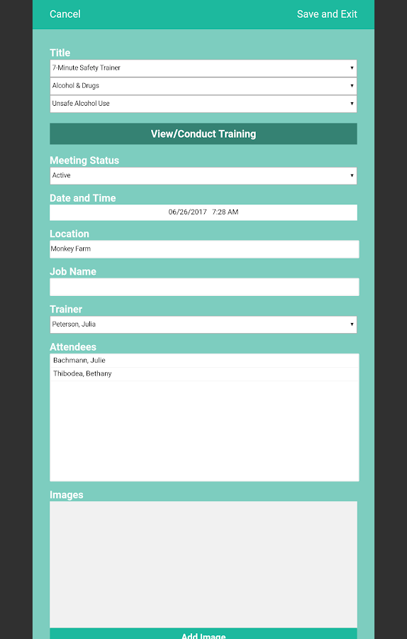 Safety Toolbox Trainer- screenshot