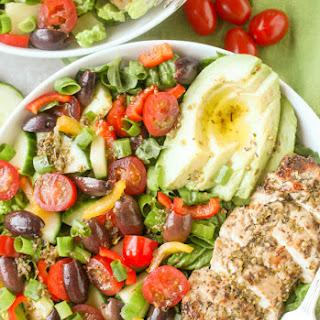 Paleo Whole30 Greek Chicken Salad Recipe