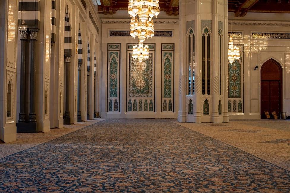 Wielki Meczet Sułtana Kabusa, dywan