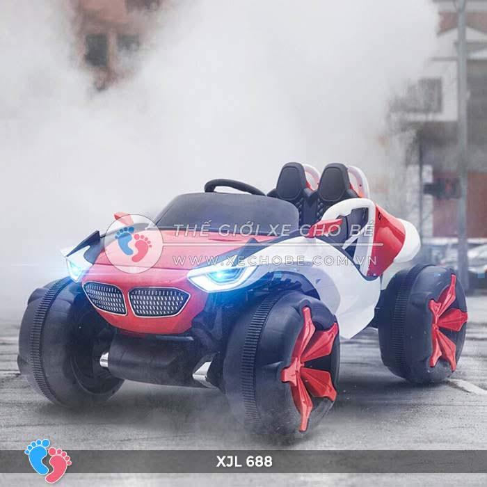 Xe ô tô điện địa hình cho bé XJL-688 13