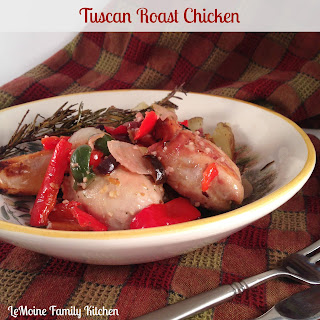 Tuscan Roast Chicken