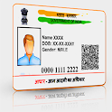 Scan aadhar icon