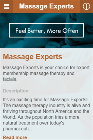 Massage Experts- screenshot