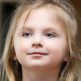 That Look by Luanne Bullard Everden - Babies & Children Child Portraits ( girls, grandchildren, children, portraits, toddlers, eyes,  )