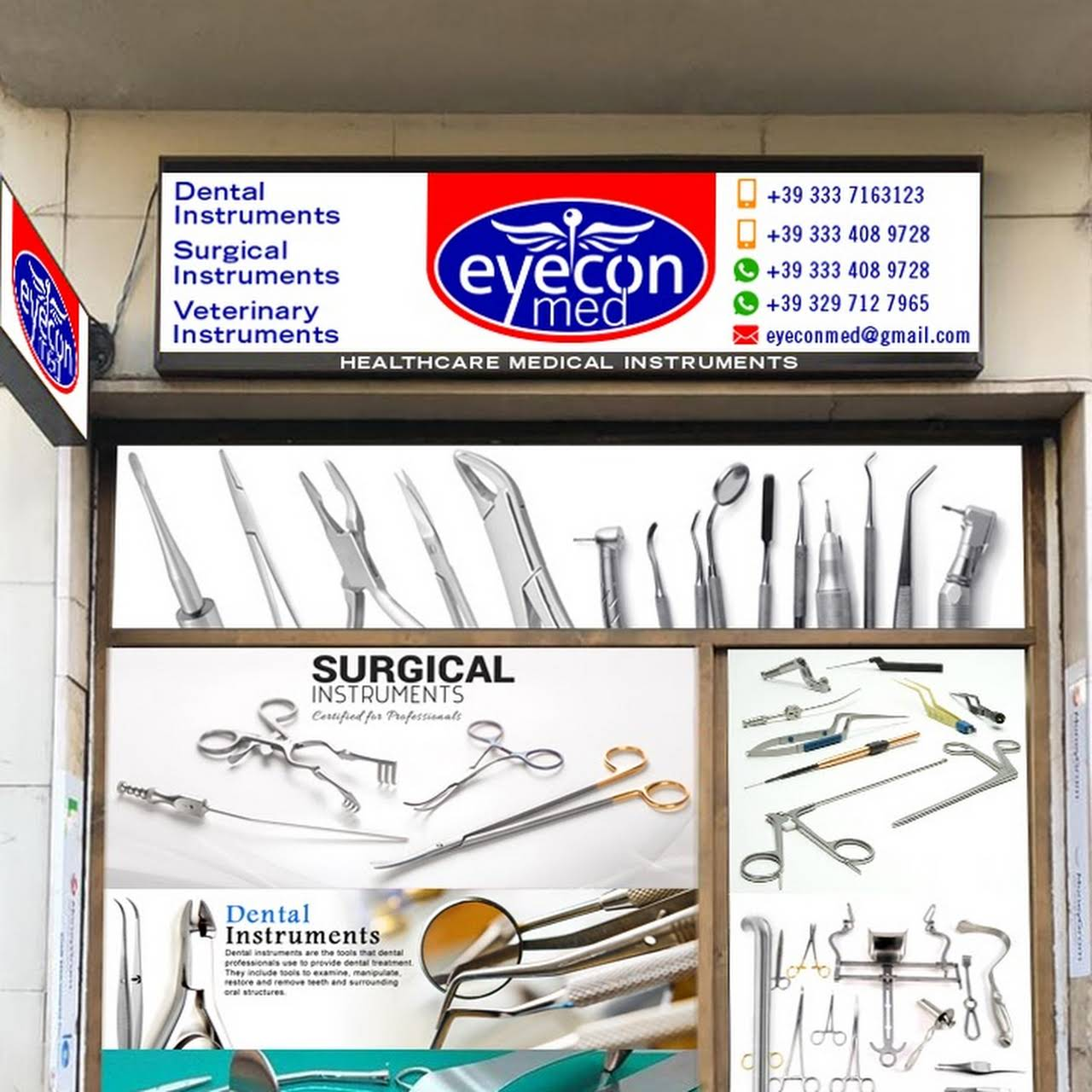 EYECONMED LTD - Dental & Surgical Instruments Manufacturer