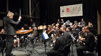 concierto de la Banda Sinfónica Municipal en el Teatro Apolo.
