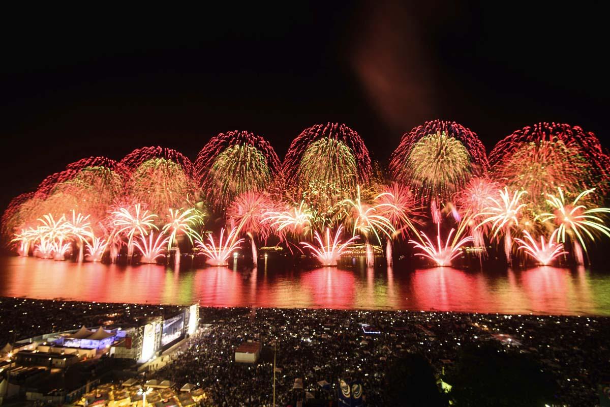 Fuegos artificiales en Rio