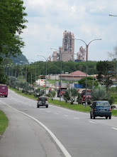Photo: Year 2 Day 113 - Large Cement Works on the Outskirts of Ipoh