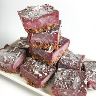 Frozen Blackberry Cobbler Bars