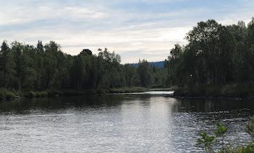 Photo: Stugselet ned mot Utströmmen