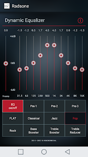 Radsone Hi-Res Player Screenshot