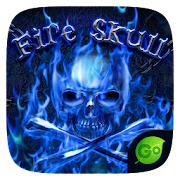 Fire Skull GO Keyboard Theme 4.2 Icon