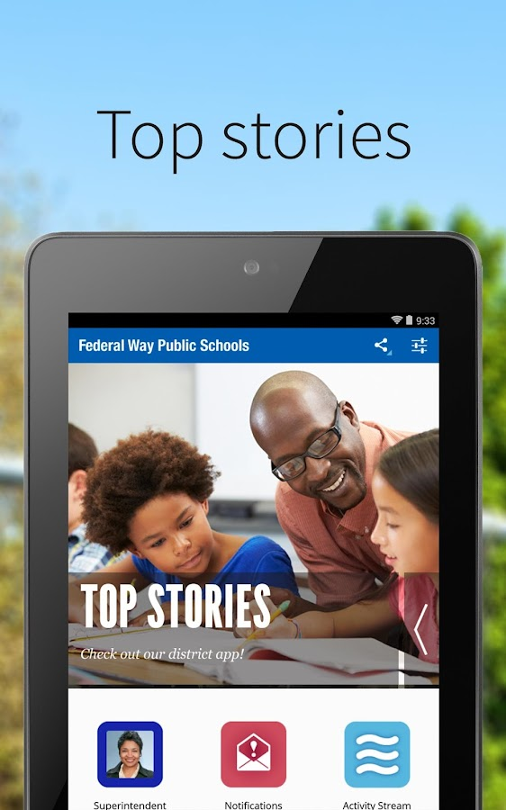 Federal Way Public Schools- screenshot