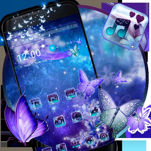 Galaxy Fairy Butterfly Theme