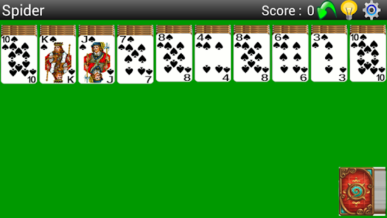 Best Spider Solitaire- screenshot thumbnail