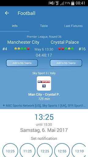 Live Sports TV Listings Guide 2.83 Screenshots 2