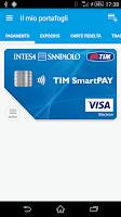 Screenshot of TIM Wallet