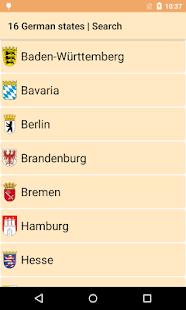 Federal states of Germany HD- screenshot thumbnail