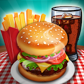 Kitchen Craze: Food Restaurant Chef Cooking Games Icon