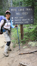Photo: The End of our backpacking.. I was exhausted.